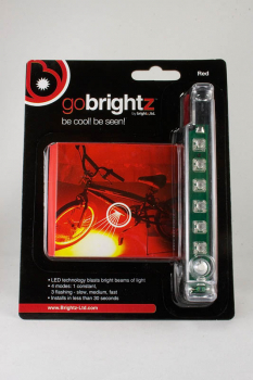 Go Brightz Bike Light - Red