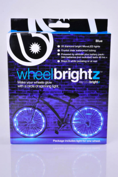 Wheel Brightz Bike Tire Lights - Blue