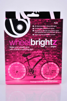 Wheel Brightz Bike Tire Lights - Pink