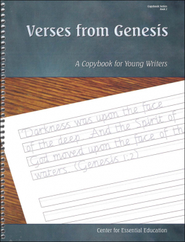 Verses From Genesis - Book 2 (Scripture-Based Copybooks)