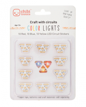 Circuit Stickers RYB LED Mega Pack