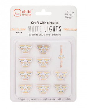 Circuit Stickers White LED Mega Pack (Add-On)