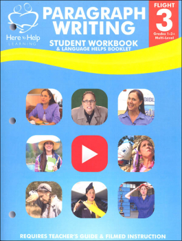 Flight 3 Paragraph Writing Student Workbook