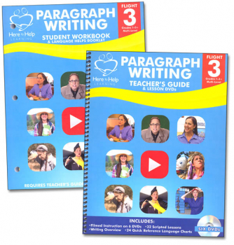 Flight 3 Paragraph Writing Teacher's Kit