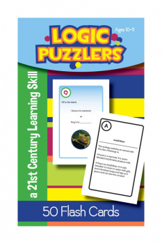 Logic Puzzlers Deck Flash Cards for Ages 10-11