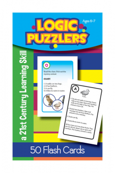 Logic Puzzlers Deck Flash Cards for Ages 6-7