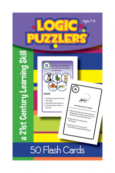 Logic Puzzlers Deck Flash Cards for Ages 7-8