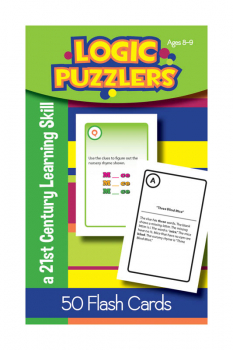 Logic Puzzlers Deck Flash Cards for Ages 8-9
