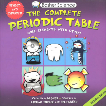 Complete Periodic Table More Elements with Style! (Basher Science)