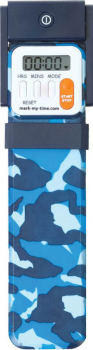 Mark-My-Time Digital Booklight Blue Camouflage