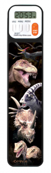 Mark-My-Time Digital Bookmark 3D Dinosaur