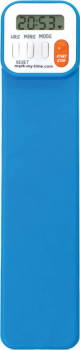 Mark-My-Time Digital Bookmark Neon Blue