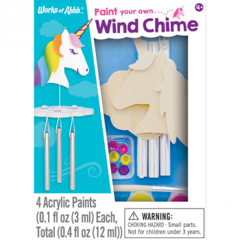 Unicorn Wind Chime Kit (Small Craft Kit)