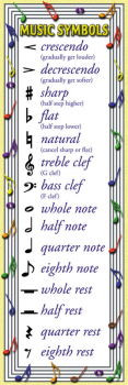 Music Basics Bookmark