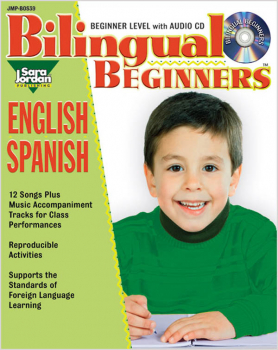 Bilingual Beginners English-Spanish Resource Book with CD