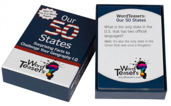 WordTeasers Mini Deck: Our 50 States
