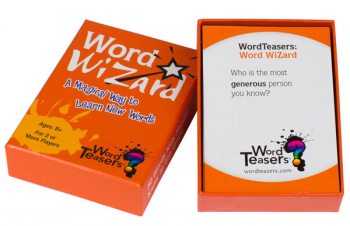 WordTeasers Mini Deck: Word Wizard