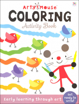 Arty Mouse Coloring Activity Book