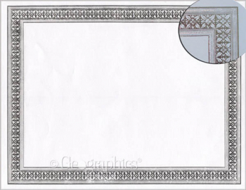 Flourish Silver Foil Certificates (Package of 12)
