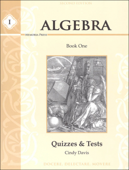 Algebra I Quizzes & Tests Second Edition