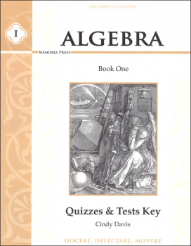 Algebra I Quizzes & Tests Key Second Edition
