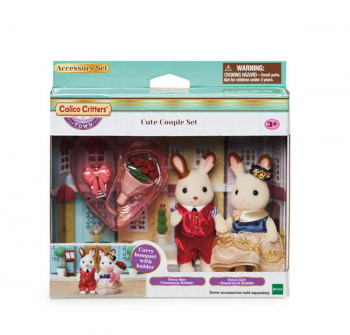 Cute Couple Set (Calico Critters)