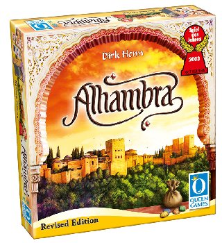 Alhambra Game - English Only