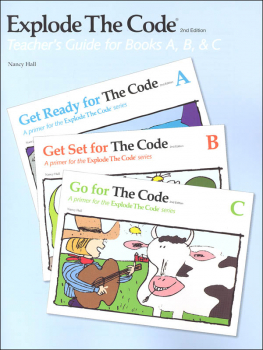 Explode the Code A-C Teacher Guide/Key (2nd Edition)