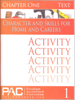 Character & Skills for Home & Careers Chapter 1 Activities