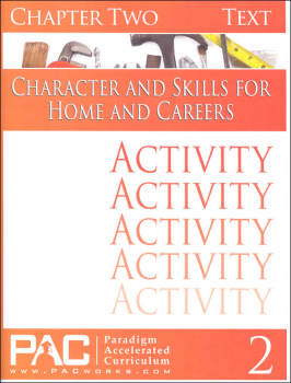Character & Skills for Home & Careers Chapter 2 Activities