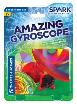 Amazing Gyroscope Experiment Kit (Spark Science in a Flash)