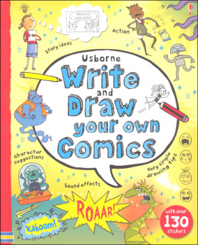 Write and Draw Your Own Comics (Usborne)