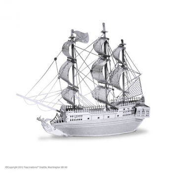 Black Pearl Ship (Metal Earth 3D Laser Cut Models)