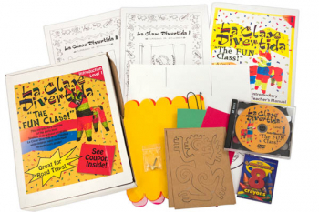 La Clase Divertida Introduction Level I Kit (Lessons 1-5 on DVD/Audio CD)