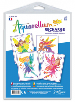 Aquarellum Junior Refill - Fairies