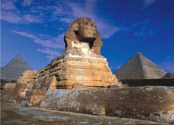 Great Sphinx of Giza, Egypt Glow in the Dark 500 Piece Puzzle