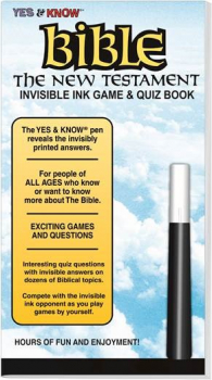 Yes & Know Bible: New Testament Invisible Ink Trivia & Game Book
