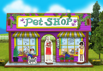 Pet Shop Playset and Characters (Happy Place Collection)