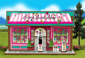 Sweet Shop Playset and Characters (Happy Place Collection)