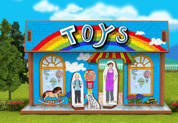 Toy Shop Playset and Characters (Happy Place Collection)