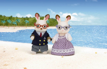 Hopscotch Rabbit Grandparents (Calico Critter)