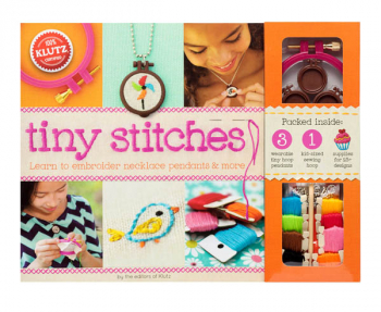 Tiny Stitches (Learn to Embroider Necklace Pendants & More)