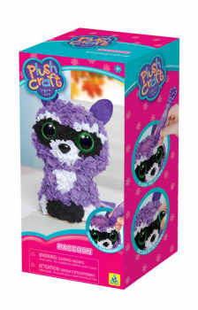 PlushCraft Raccoon (3D)