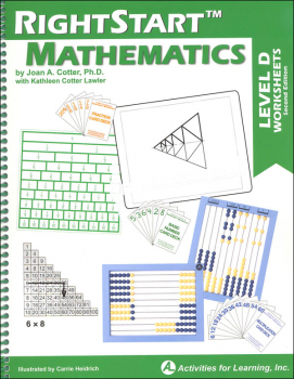 RightStart Mathematics Level D Worksheets 2nd Edition