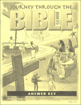 Journey Through the Bible Book 3: New Testament Answer Key