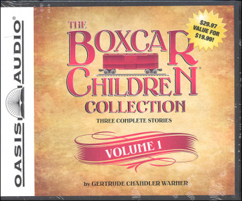 Boxcar Children Collection Volume 1 Audiobooks (Three Complete Stories: Boxcar Children, Surprise Island, and Yellow Hou