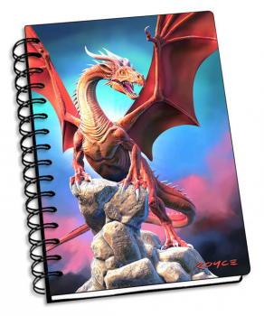 "Red Dragon 3D Notebook 4"" x 6"""