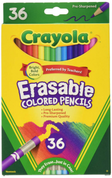 Crayola Erasable Colored Pencils 36 count