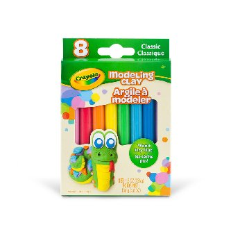 Crayola Modeling Clay: Classic Color Assortment - 8 count