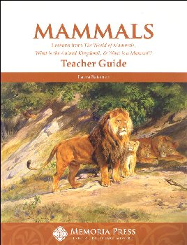 Mammals: Lessons from the World of Animals Teacher Guide